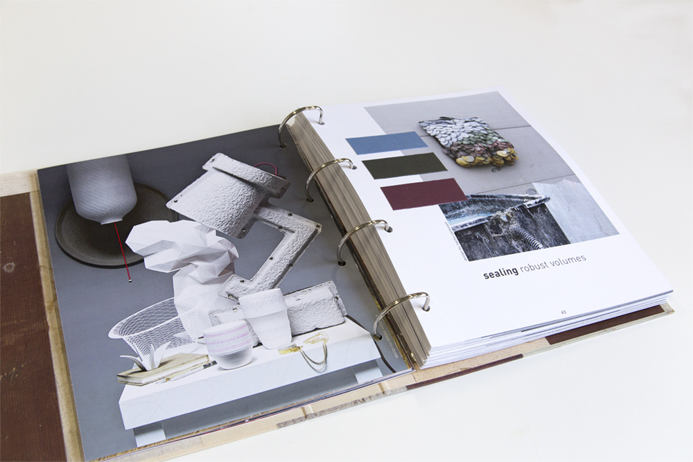 our work in Lidewij Edelkoort's trend book